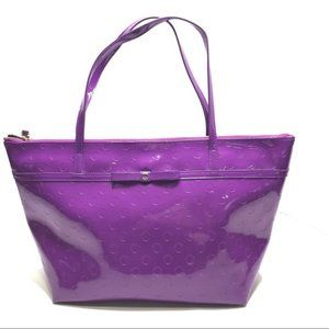 Kate Spade ♠️ Purple Patent Tote Purse ~NEW!